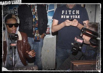 Wiz Khalifa dans radio Libre