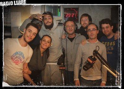 Gym Class Heroes dans la Radio Libre