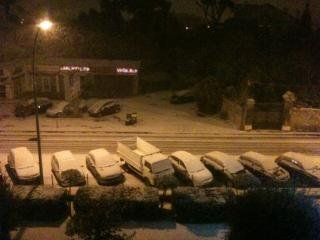 Marseille sous la neige !