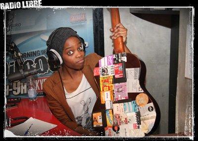 Les photos de Youssoupha et Irma dans la Radio Libre