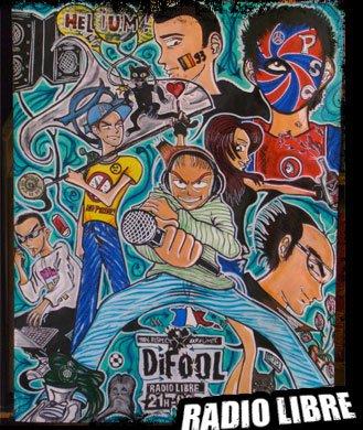 Les membres de l'équipe en version Manga !!!!!!