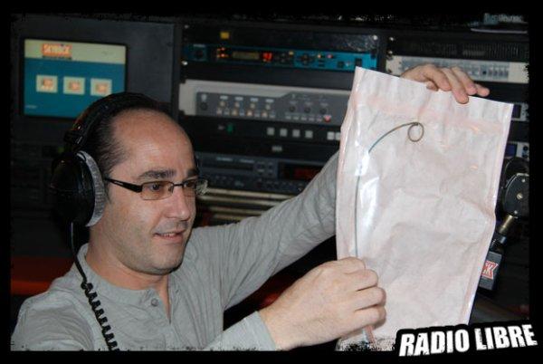 Un cadeau particulier pour Romano.......le tuyau de Cédric !!!!!!