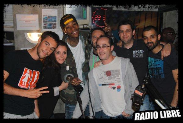 Wiz Khalifa dans la Radio Libre