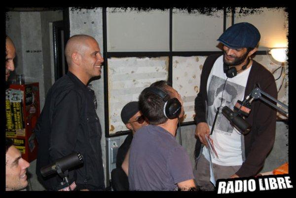 Les Kaira, Rim-K et Ramzy dans la Radio Libre