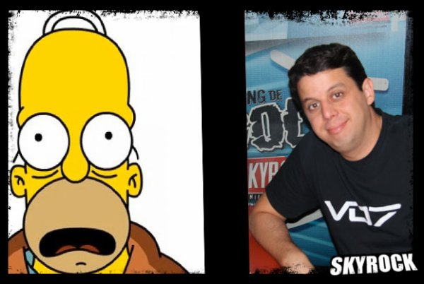 Cedric le sosie d'Homer Simpson ?