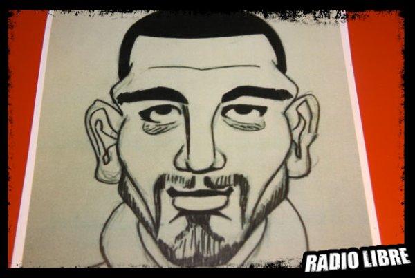 Un dessin qui représente Karim