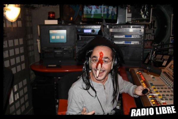La soirée Halloween dans la Radio Libre