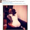 Rihanna en culotte dans son canapé avec Chris brown