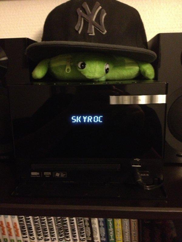 Skyrock en voiture et chez vous !