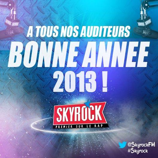 BONNE ANNEE 2013 A TOUS NOS AUDITEURS !