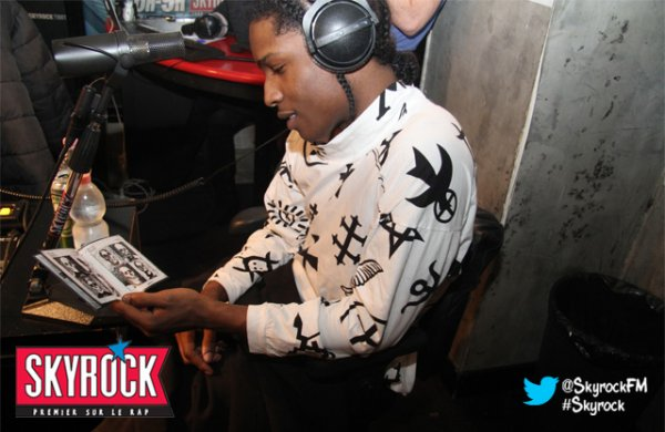 Les photos et vidéos d'A$ap Rocky dans la Radio Libre de Difool !!!!