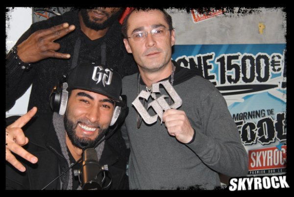 La Fouine dans la Radio Libre avec le (petit) prince du hip-hop !