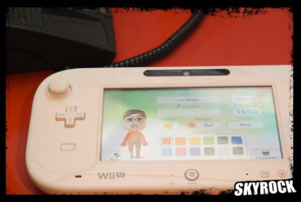 Les membres de l'équipe en personne Mii (Wii U)