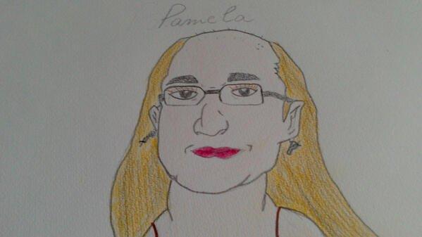 Magnifique dessin de Paméla