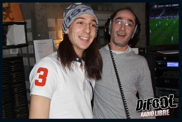Rachid ibrahimovic sosie de zlatan dans la radio libre