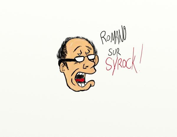 La caricatures de Difool et Romano