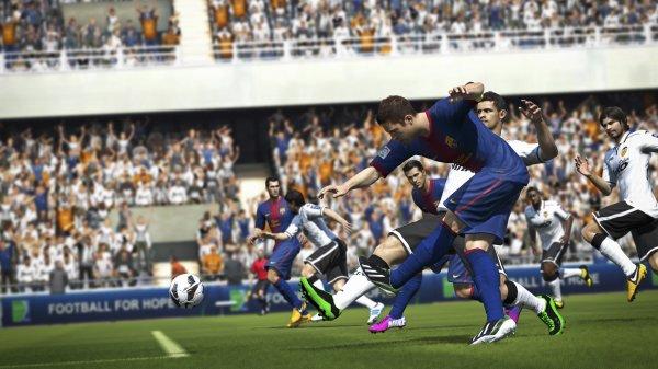 Les images de Fifa 14