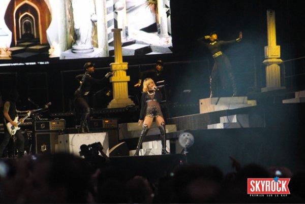 Les photos du concert de Rihanna