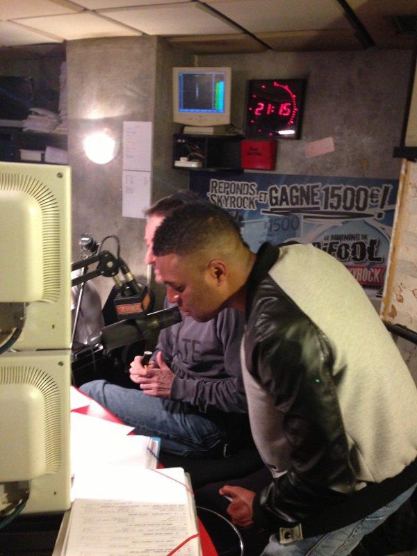 Axel Tony dans la radio libre