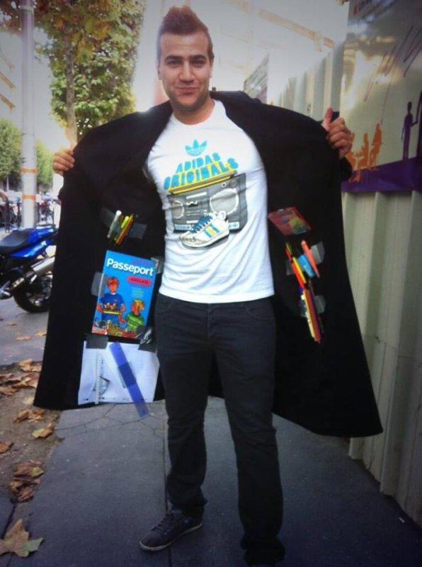 Karim Boubou ce matin en mode rentrée des classes