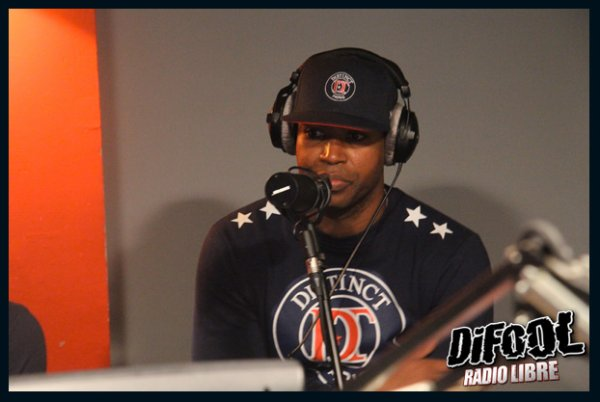 Rohff, en direct dans la Radio Libre !