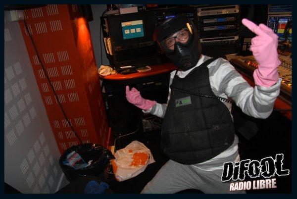 La tenue de Romano pour le PaintBall ( avec les gants de Cédric)