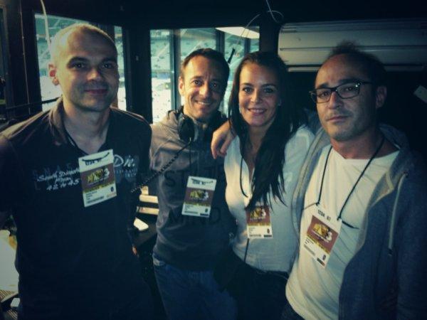 Difool, Marie, Romano et Vincent en direct d'Urban Peace 3