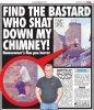 Un écossais défèque dans la cheminée de son voisin !