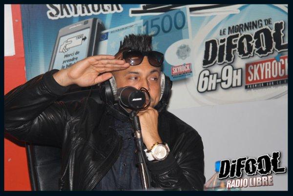 Sean Paul dans la Radio Libre de Difool