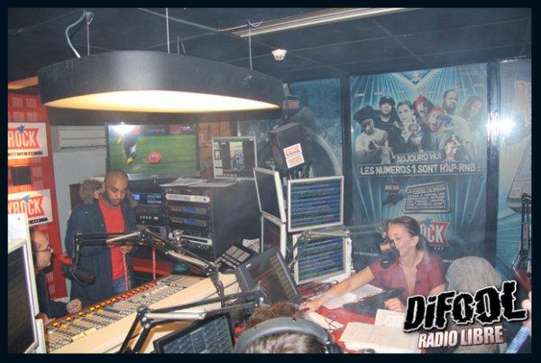 Soirée Chicha dans la Radio Libre de Difool