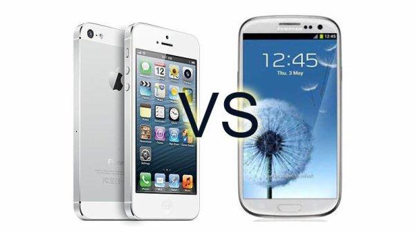 Plutôt Galaxy S4 ou iPhone 5S ?