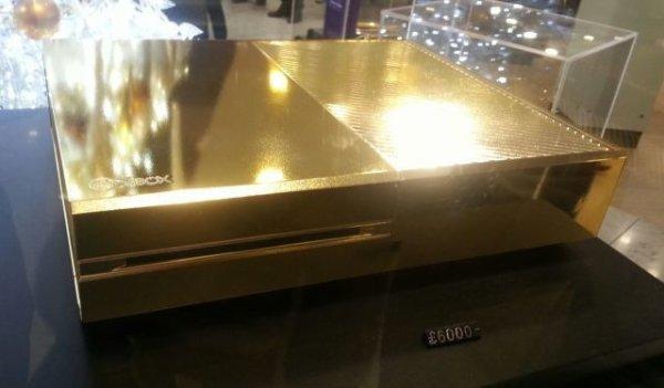 Une Xbox One d'une valeur de 7000 euros