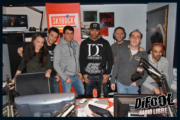 Rohff dans la Radio Libre de Difool