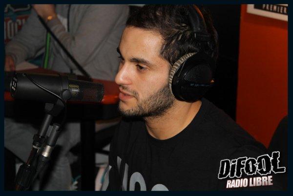 Malik Bentalha en live dans la Radio Libre de Difool !
