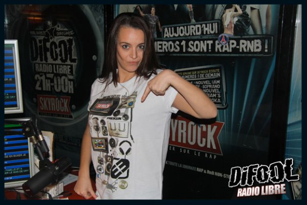Les t-shirts Skyrock !!!!