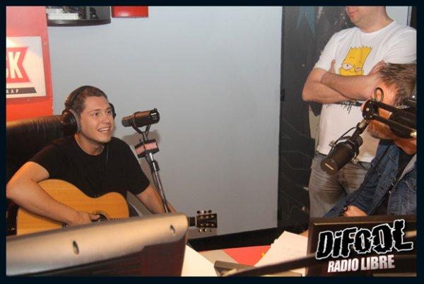 Cris Cab dans la Radio Libre de Difool !