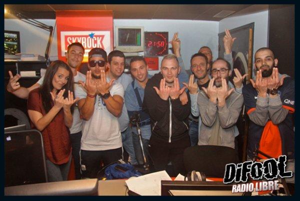 JUL avec les membres de la Radio Libre de Difool