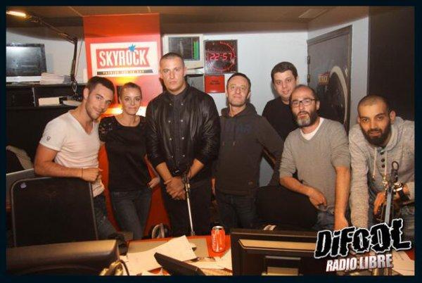 DJ Snake avec Difool et l'équipe