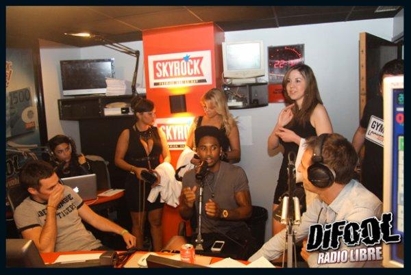 Trey Songz dans la Radio Libre de Difool
