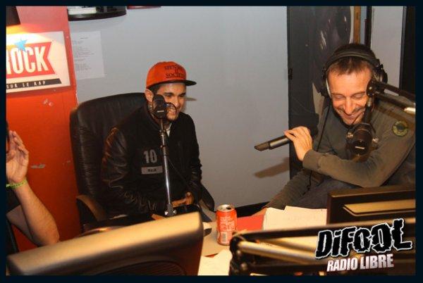 Malik Bentalha dans la Radio Libre de Difool