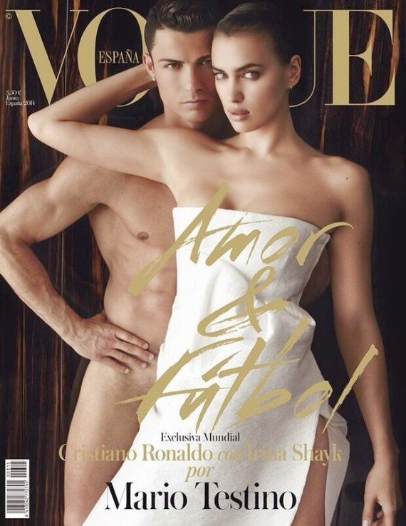Cristiano Ronaldo entièrement nu avec sa femme