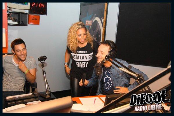 Kayna Samet dans la Radio Libre de Difool