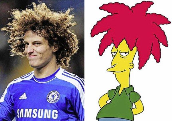 Toi aussi tu trouves que David Luiz ressemble à Tahiti Bob?! HAHAHAA