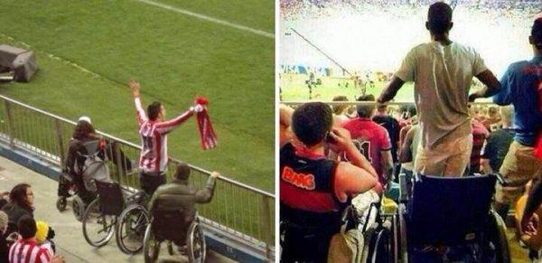 Le scandale  brésilien : des faux handicapés !!!