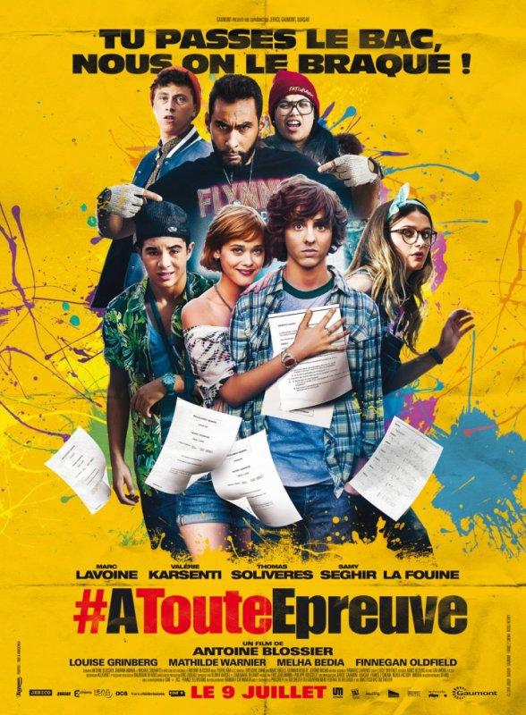 """Lundi on recevra La Fouine dans la Radio Libre ! Le film """" A Toute Épreuve """" sort le 9 juillet avec Skyrock !"""