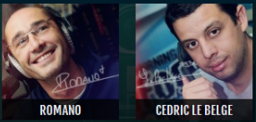 Tu votes Romano ou Cédric pour le clash de la drague, ce soir??