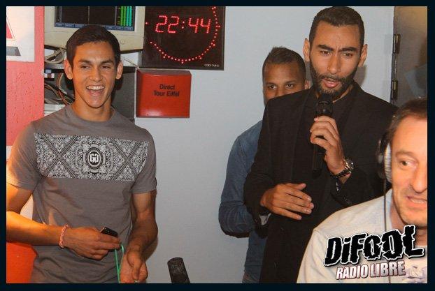 Grosse soirée dans la Radio Libre avec La Fouine et Aissa Mandi