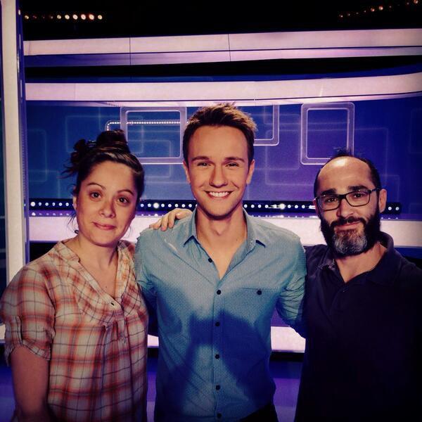 Romano lors de son passage dans l'émission #Slam sur France 3, avec Cariole ! #RadioLibreDeDifool