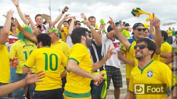 Les photos de l'avant match Brésil Allemagne suite