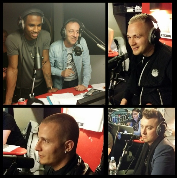 Trey Songz, Jul, Dj Snake et Sam Smith dans la Radio libre